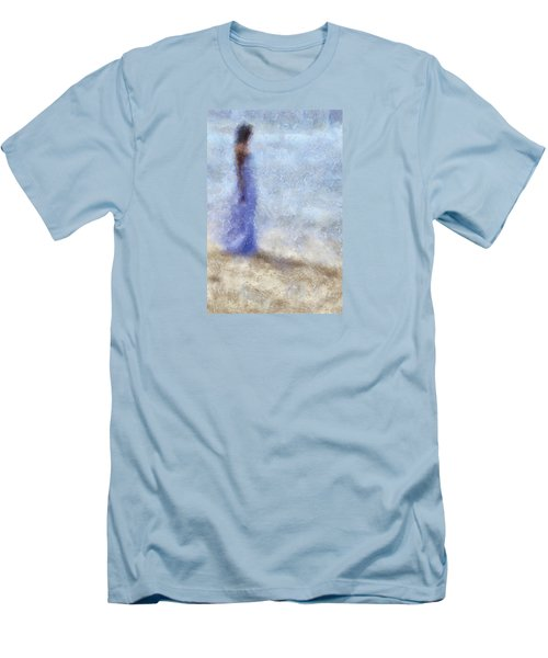 Blue Dream. Impressionism Men's T-Shirt (Athletic Fit)