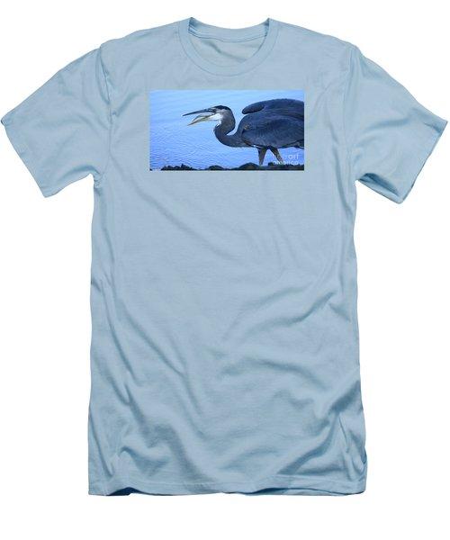 Blue Moment Men's T-Shirt (Athletic Fit)