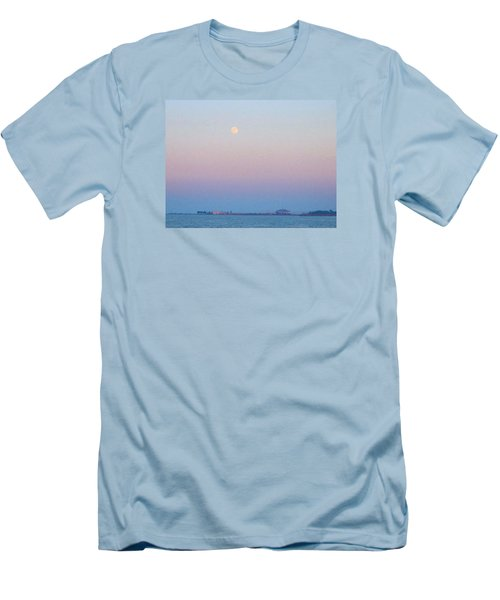 Blue Moon Eve Men's T-Shirt (Athletic Fit)