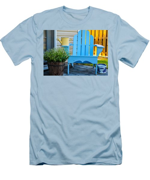 Blue Repose  Men's T-Shirt (Athletic Fit)