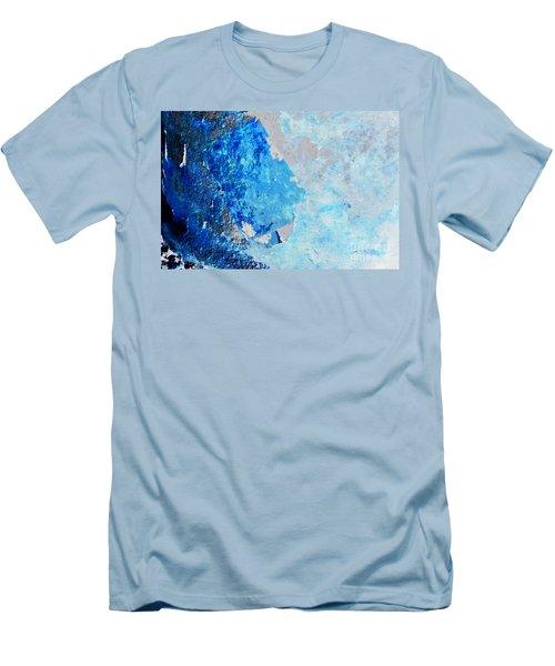 Blue Rust Men's T-Shirt (Slim Fit) by Randi Grace Nilsberg