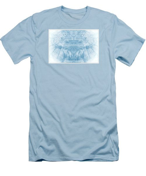 Men's T-Shirt (Slim Fit) featuring the photograph Blue Serinity by Geraldine DeBoer