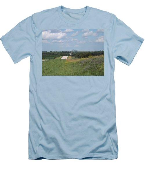 Blue Skies Men's T-Shirt (Slim Fit)