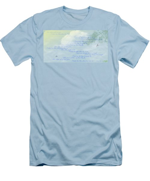 Blue Skies Men's T-Shirt (Athletic Fit)