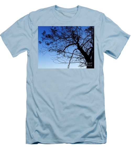 Men's T-Shirt (Slim Fit) featuring the photograph Blue Sky by Andrea Anderegg