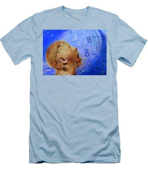 Blue World Men's T-Shirt (Athletic Fit)