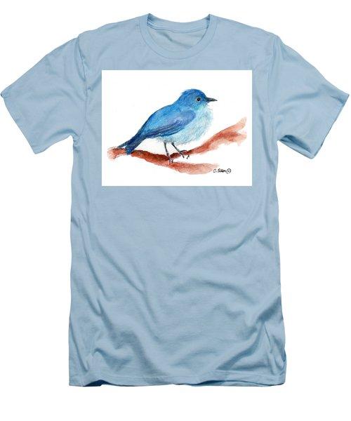 Bluebird Men's T-Shirt (Slim Fit) by C Sitton