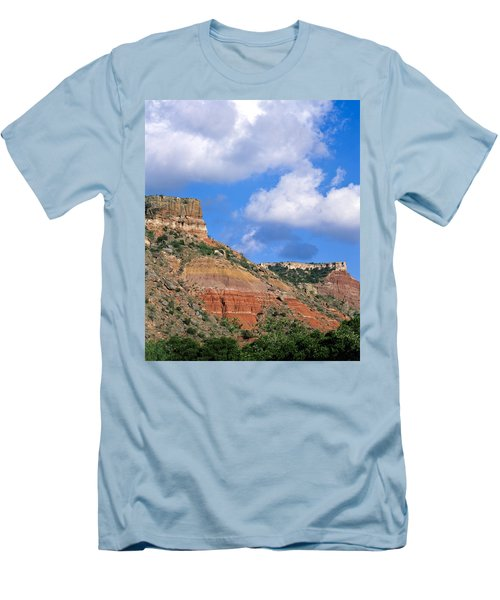 Bluffs In The Glass Mountains Men's T-Shirt (Slim Fit)