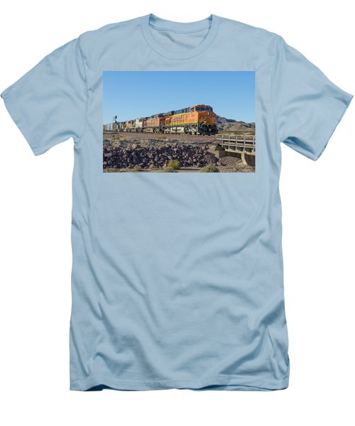 Bnsf 7649 Men's T-Shirt (Athletic Fit)