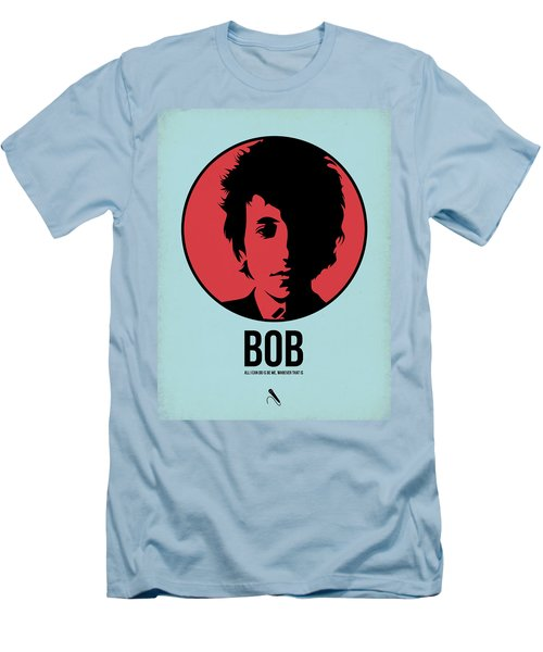 Bob Poster 2 Men's T-Shirt (Slim Fit) by Naxart Studio