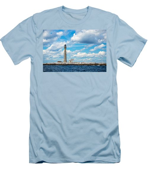 Boon Island Light Station Men's T-Shirt (Athletic Fit)