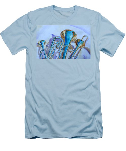Brass Candy Trio Men's T-Shirt (Athletic Fit)