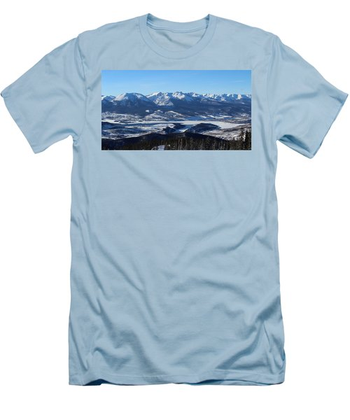 Breathtaking View Men's T-Shirt (Slim Fit) by Fiona Kennard