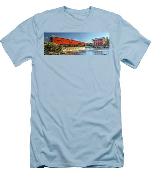 Bridgeton Bridge And Mill Men's T-Shirt (Athletic Fit)