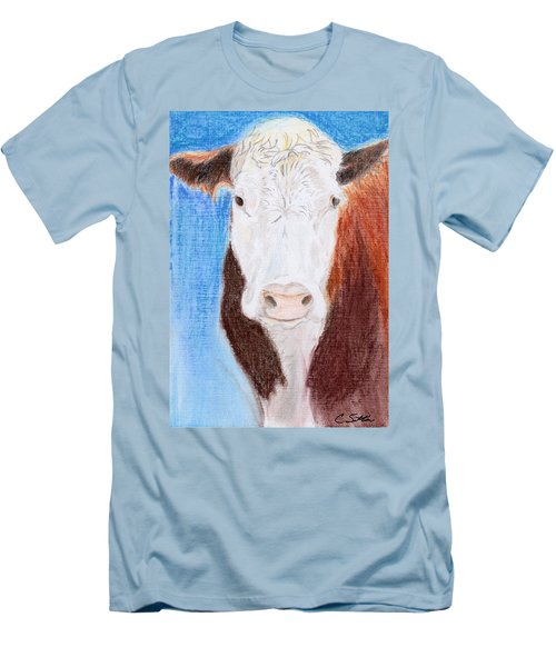 Brown-eyed Girl Men's T-Shirt (Slim Fit) by C Sitton
