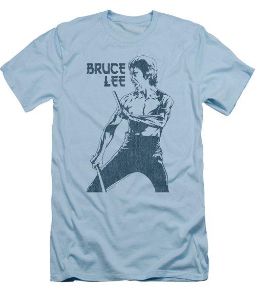 Bruce Lee - Fighter Men's T-Shirt (Athletic Fit)