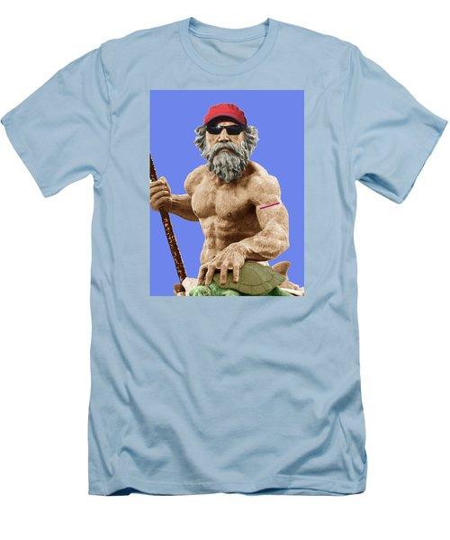 Bubba Neptune Men's T-Shirt (Slim Fit) by Mark Alder