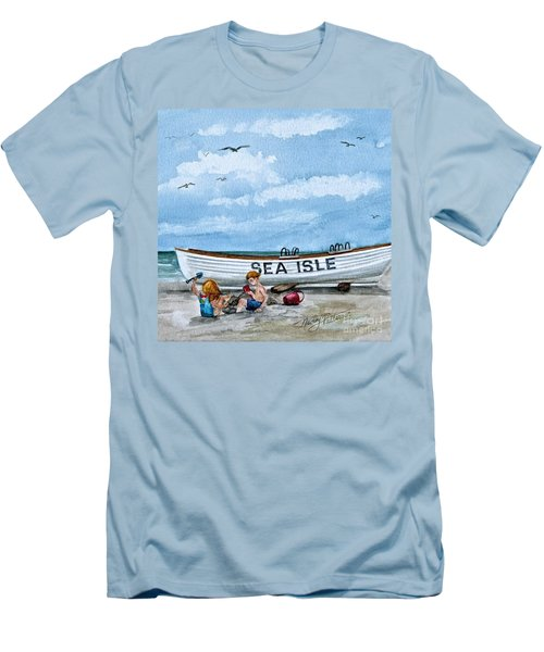 Buddies In Sea Isle City 2 Men's T-Shirt (Athletic Fit)