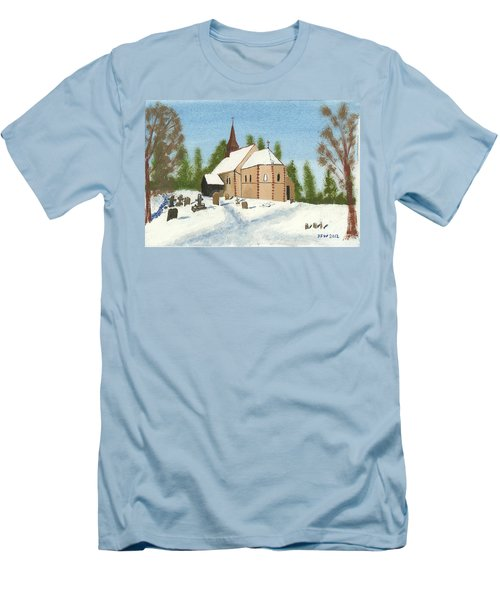 Bulley Church Men's T-Shirt (Slim Fit) by John Williams