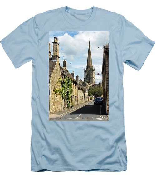 Burford Village Street Men's T-Shirt (Athletic Fit)