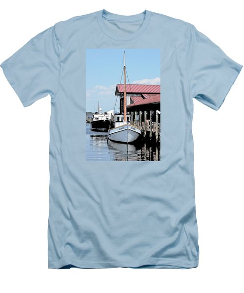 Buy Boat Old Point Men's T-Shirt (Athletic Fit)