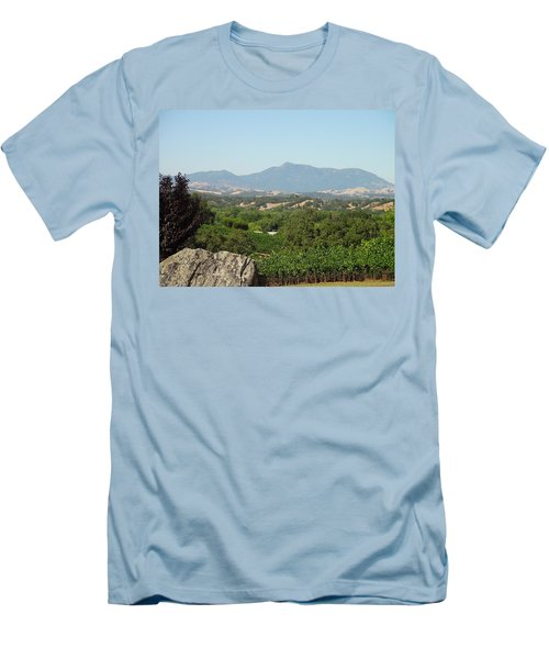Men's T-Shirt (Slim Fit) featuring the photograph Cali View by Shawn Marlow