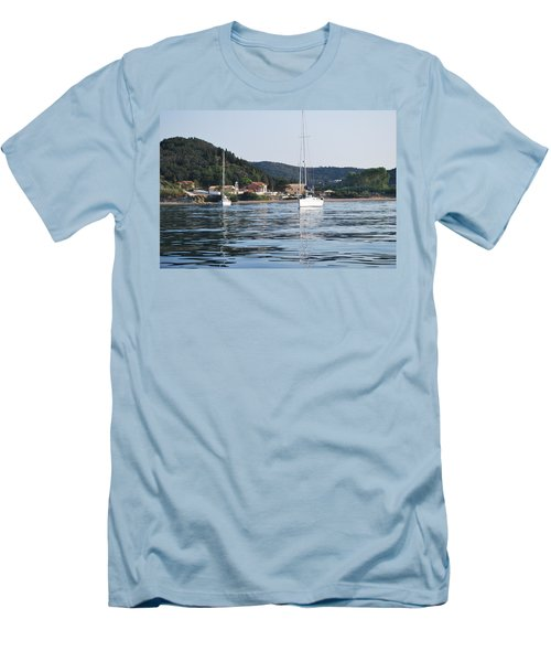 Calm Sea 2 Men's T-Shirt (Athletic Fit)