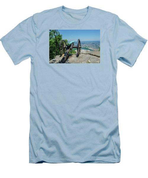 Cannon At Point Park Men's T-Shirt (Athletic Fit)