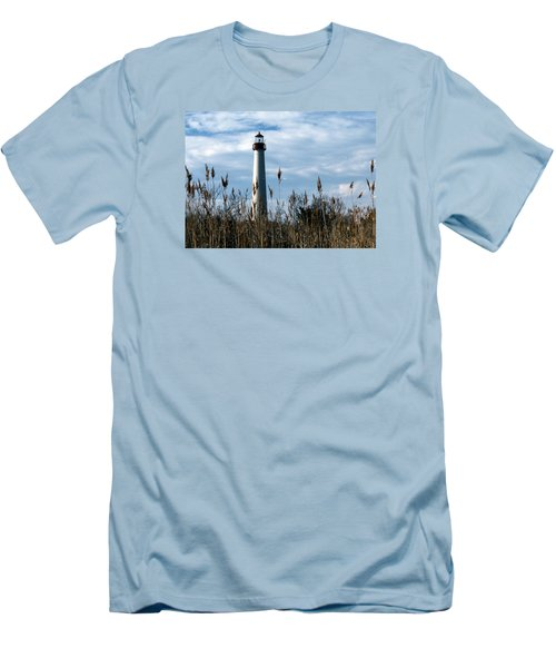 Cape May Light Men's T-Shirt (Slim Fit) by Skip Willits