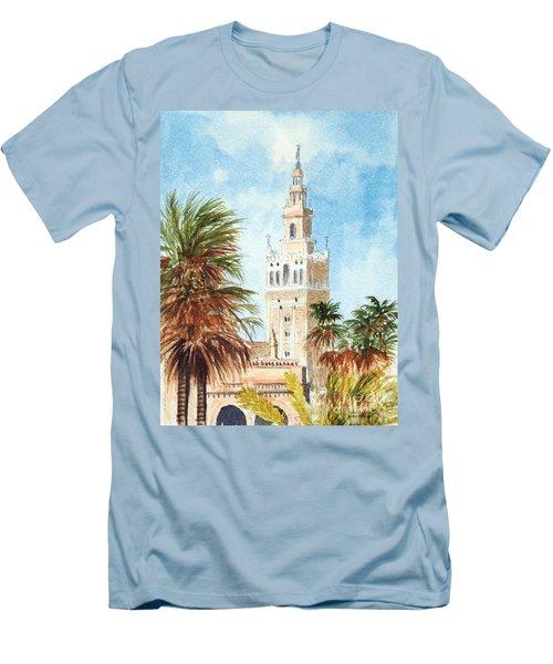 Catedral De Sevilla Men's T-Shirt (Athletic Fit)