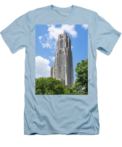 Cathedral Of Learning - Pittsburgh Pa Men's T-Shirt (Athletic Fit)