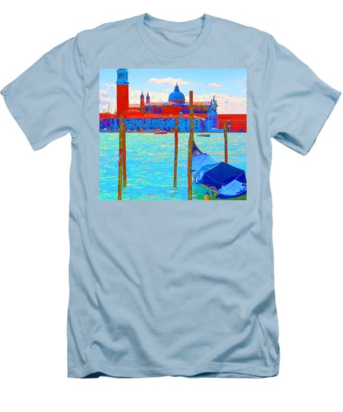 Channeling Matisse   Men's T-Shirt (Slim Fit) by Ira Shander