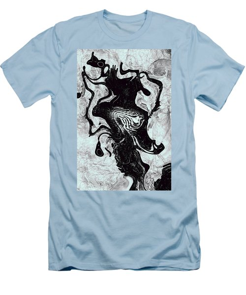 Men's T-Shirt (Slim Fit) featuring the digital art Chanteuse by Richard Thomas