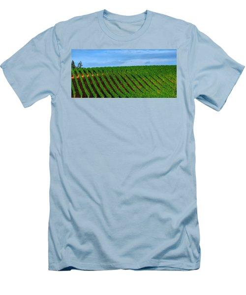 Chardonnay Sky 17990 Men's T-Shirt (Athletic Fit)