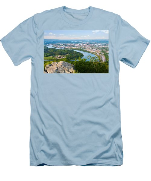 Chattanooga Spring Skyline Men's T-Shirt (Athletic Fit)
