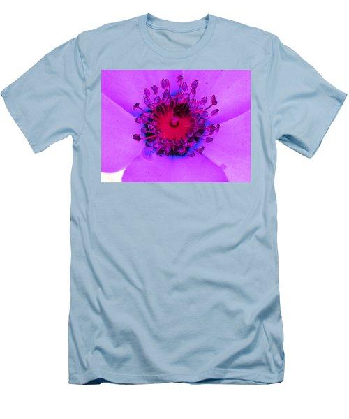 Cherry Pie Rose - Photopower 2827 Men's T-Shirt (Slim Fit) by Pamela Critchlow