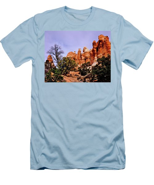 Chesler Park Pinnacles Men's T-Shirt (Athletic Fit)