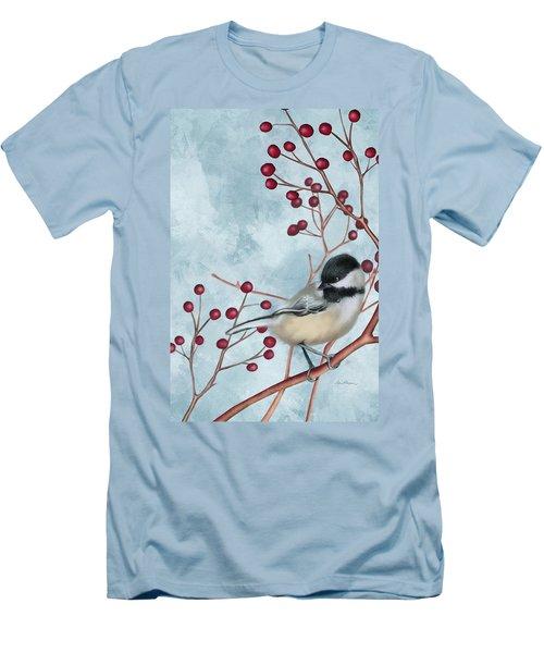 Chickadee I Men's T-Shirt (Athletic Fit)