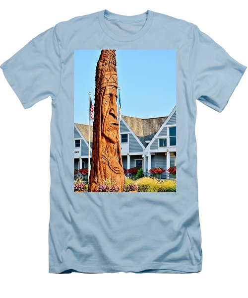 Chief Little Owl Men's T-Shirt (Athletic Fit)