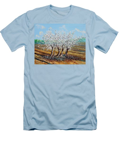 Men's T-Shirt (Slim Fit) featuring the painting Chosen by Meaghan Troup