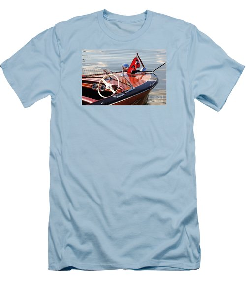 Chris Craft Deluxe Runabout Men's T-Shirt (Athletic Fit)