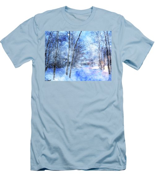 Christmas Wishes Men's T-Shirt (Athletic Fit)
