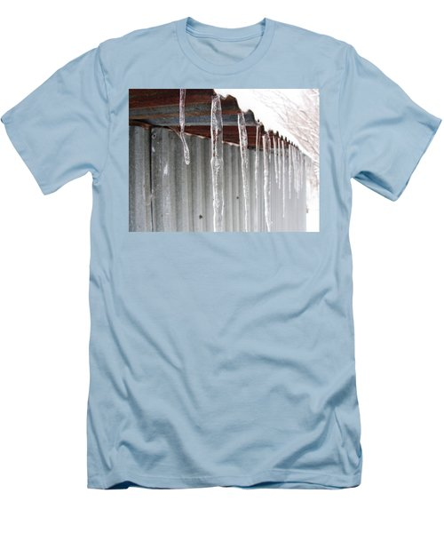 Men's T-Shirt (Slim Fit) featuring the photograph Clear As Glass by Tiffany Erdman