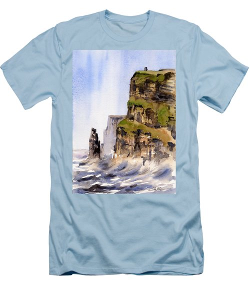 Clare   The Cliffs Of Moher   Men's T-Shirt (Athletic Fit)