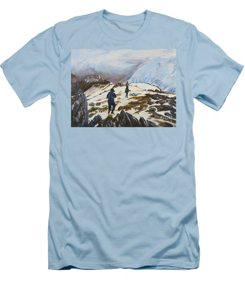 Climbers - Painting Men's T-Shirt (Athletic Fit)