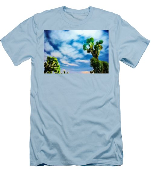 Men's T-Shirt (Slim Fit) featuring the photograph Clouds On The Move by Angela J Wright