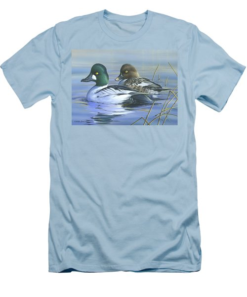 Common Goldeneye Men's T-Shirt (Slim Fit) by Mike Brown