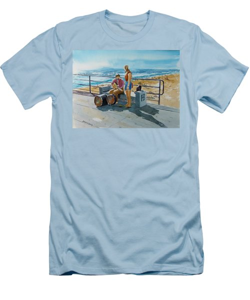 Concert In The Sun To An Audience Of One Men's T-Shirt (Athletic Fit)