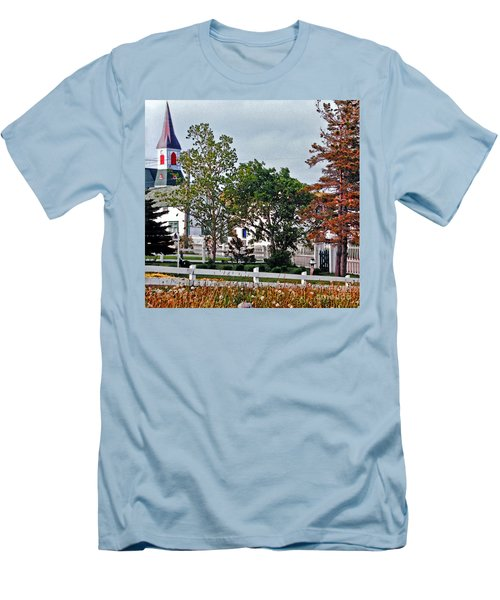 Convergence  Men's T-Shirt (Slim Fit) by Lydia Holly