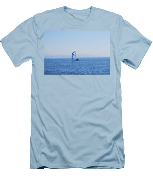 Cool Breeze Men's T-Shirt (Slim Fit) by George Katechis